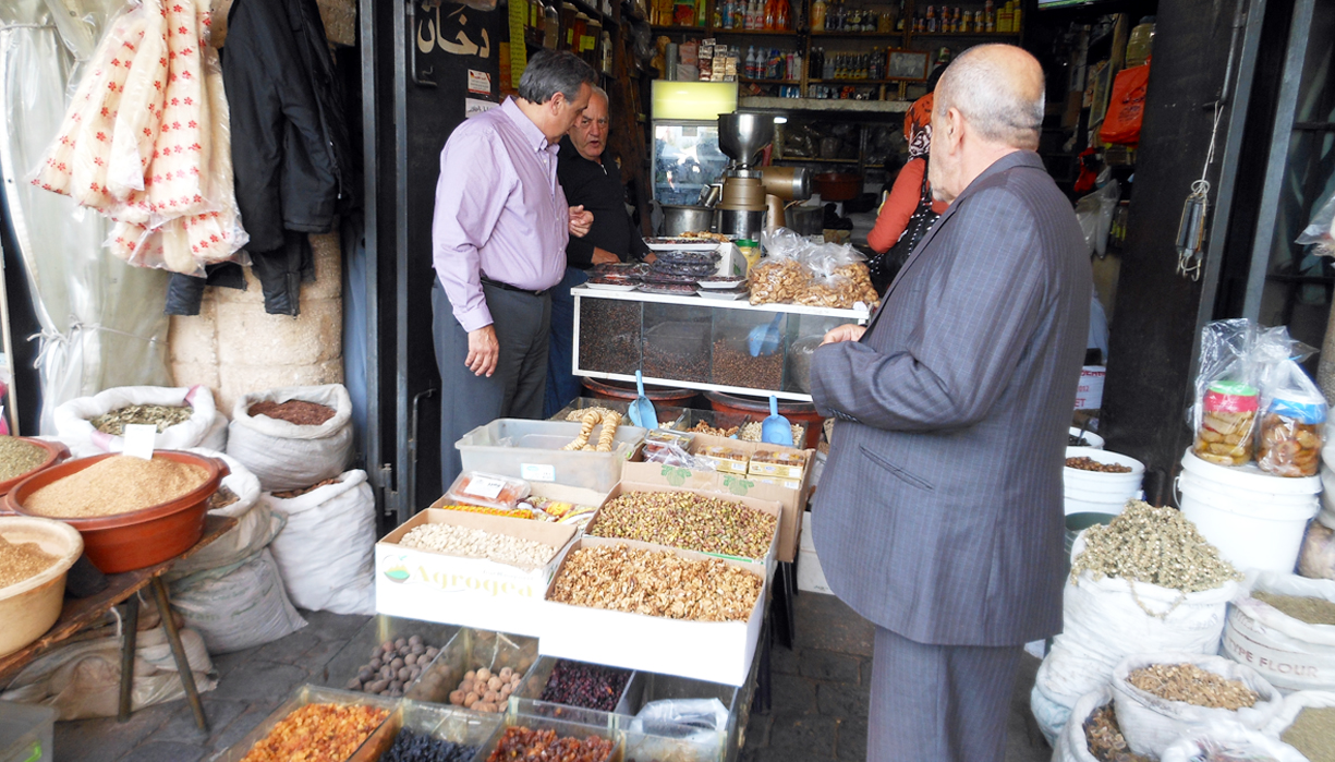 Buying Oregano in Tyre: God's appointment