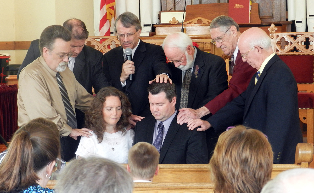 Brent Hannah ordained in Salem