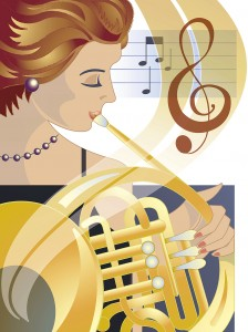 06 0614 French horn CLR